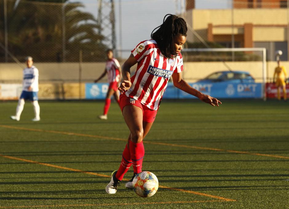Temp 2019-20 | Granadilla Tenerife - Atlético de Madrid |Ludmila