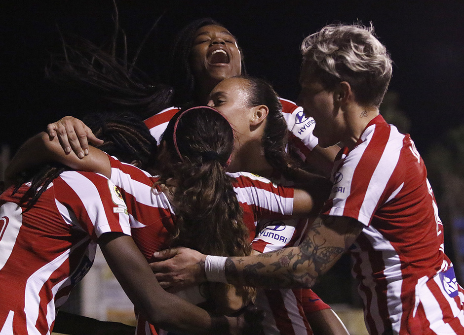 Temporada 18/19 | Granadilla Tenerife - Atlético de Madrid Femenino | Gol