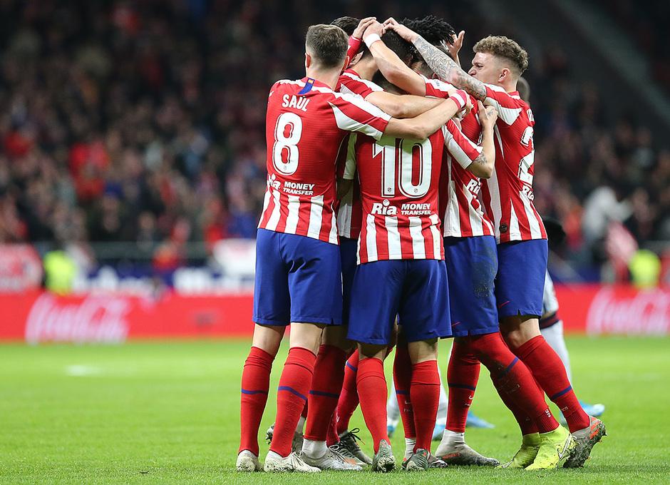 Temporada 19/20. Atleti - Levante | Celebración