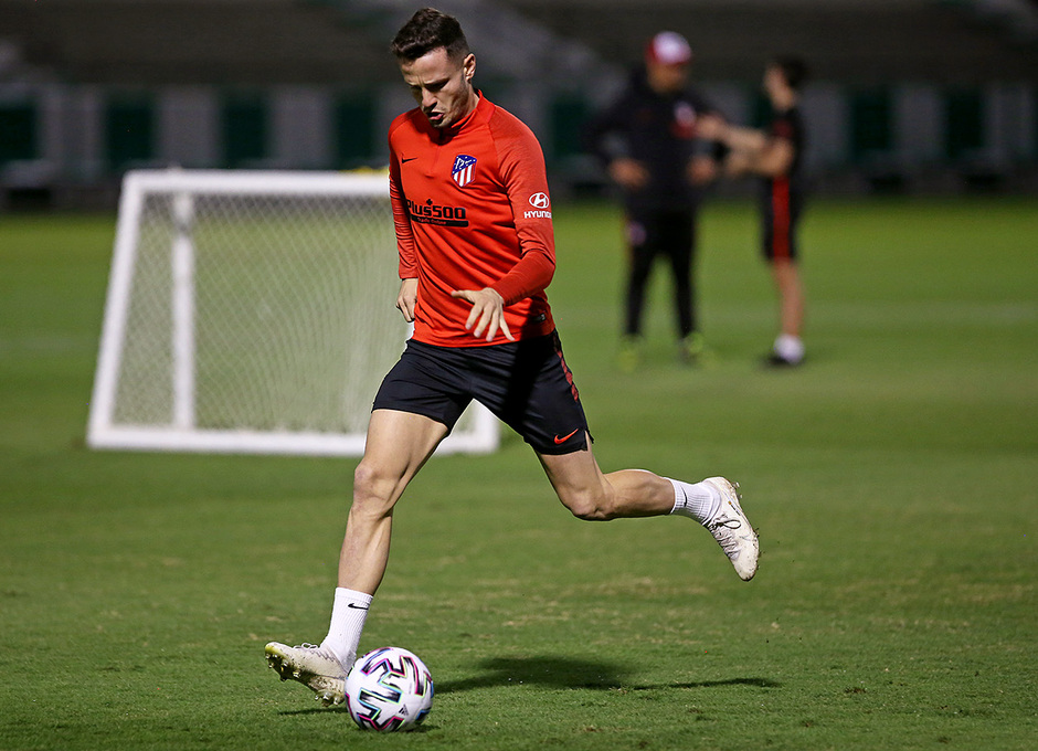 Temp. 19-20 | Supercopa de España | Training Centre Al Ahli | Sául