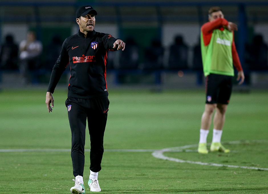 Temp. 19-20 | Supercopa de España | Training Centre Al Ahli | Simeone