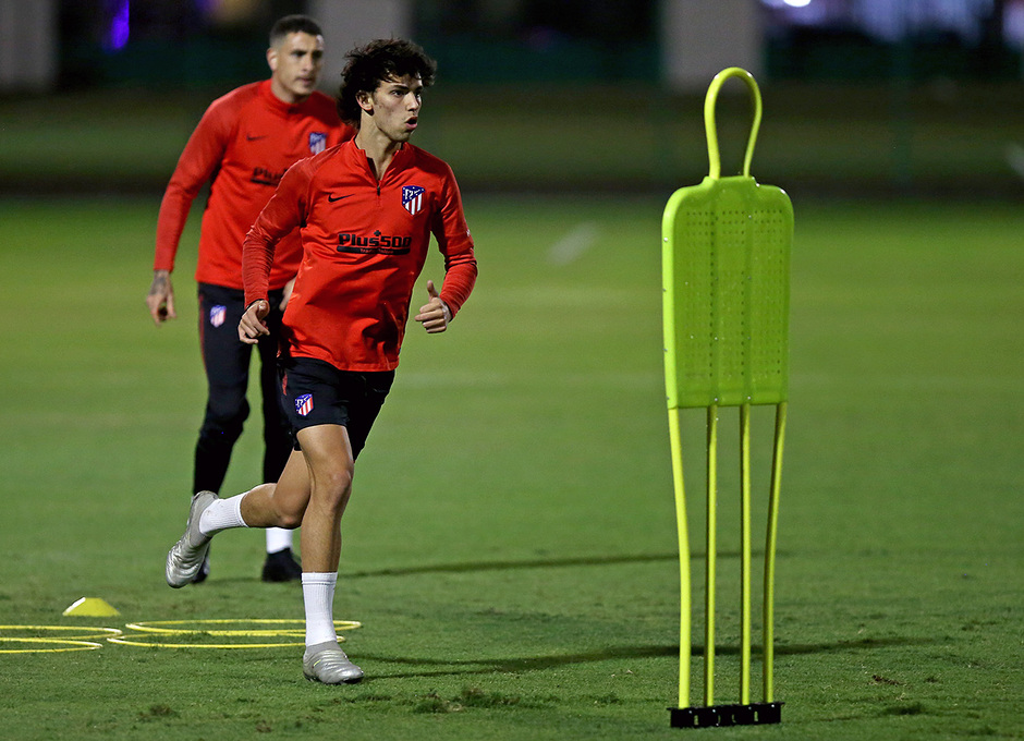 Temp. 19-20   Supercopa de España   Training Centre Al Ahli   Joao Félix
