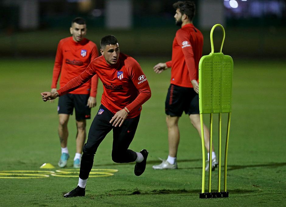 Temp. 19-20   Supercopa de España   Training Centre Al Ahli   Giménez