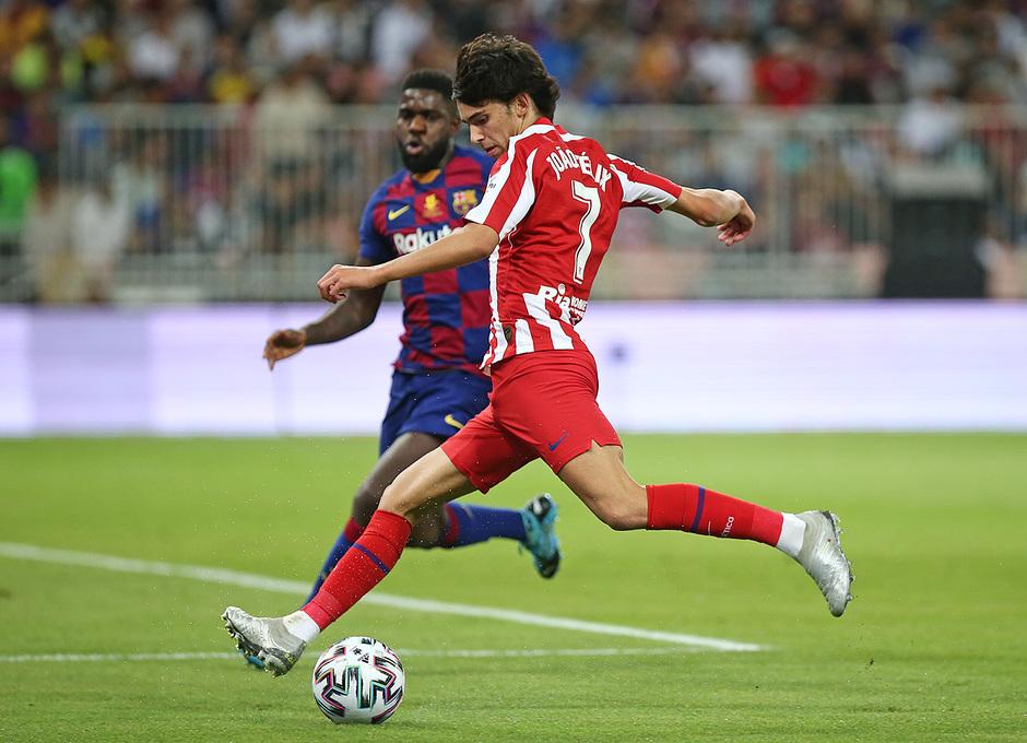 Temp. 19-20   Supercopa de España   FC Barcelona - Atlético de Madrid   Joao Félix