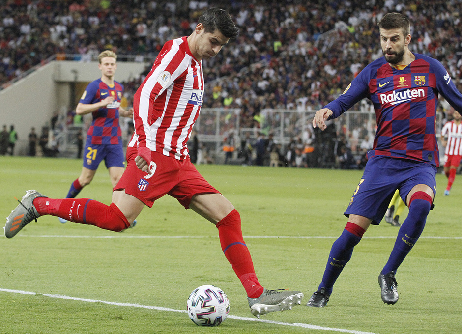 Temp. 19-20 | Supercopa de España | FC Barcelona - Atlético de Madrid | Morata