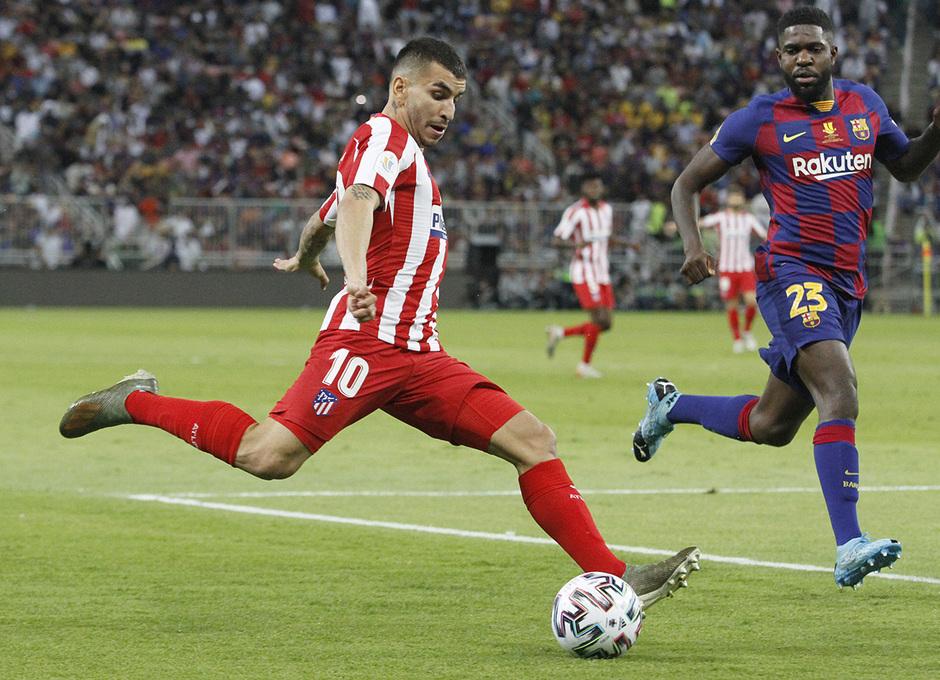 Temp. 19-20   Supercopa de España   FC Barcelona - Atlético de Madrid   Correa