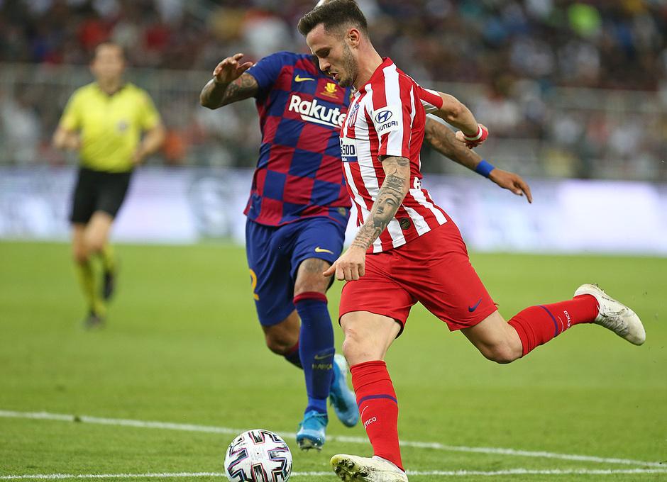 Temp. 19-20   Supercopa de España   FC Barcelona - Atlético de Madrid   Saúl