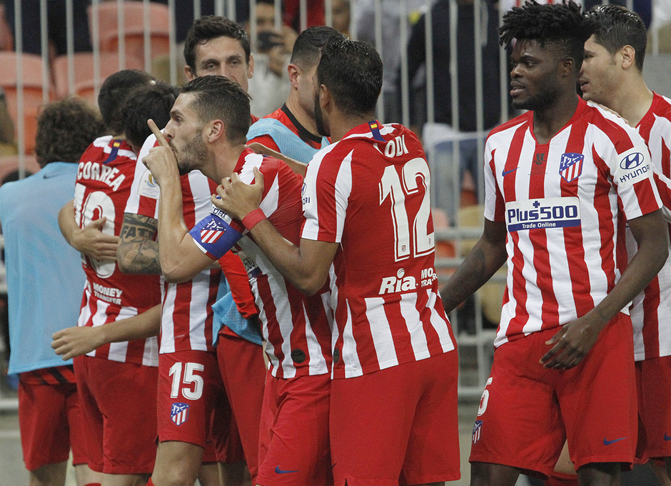 Temp. 19-20 | Supercopa de España | FC Barcelona - Atlético de Madrid | Celebración