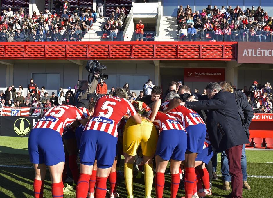Temporada 19/20 | Atlético de Madrid Femenino - Sporting de Huelva. Equipo