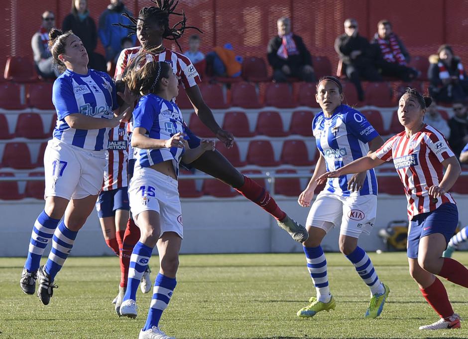 Temporada 19/20 | Atlético de Madrid Femenino - Sporting de Huelva. Tounkara