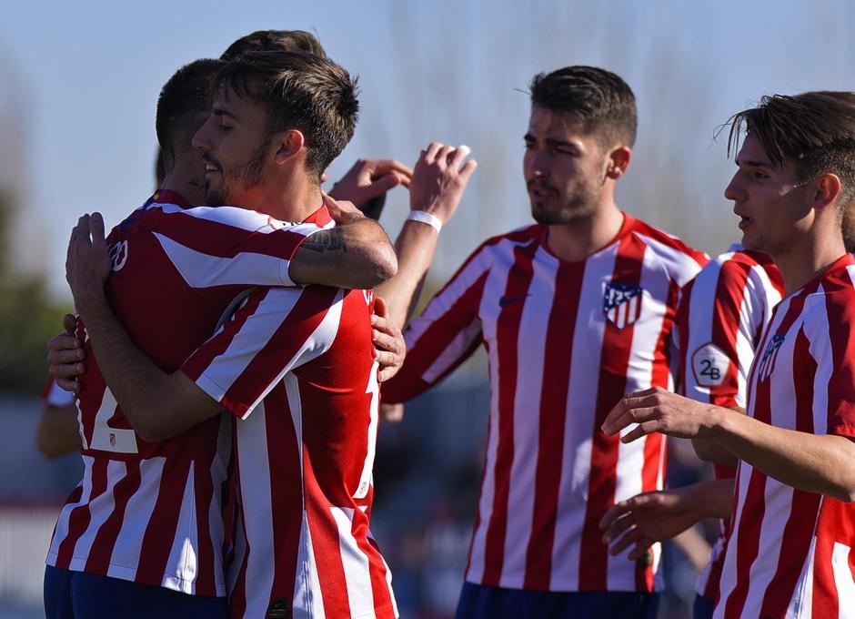 Temp 19/20 | Atlético de Madrid B - Marino de Luanco | Celebración