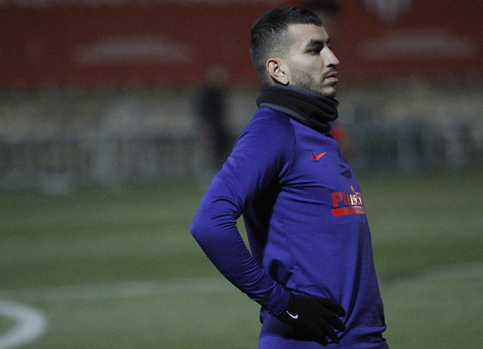 Temporada 19/20 | 14/01/2020 | Entrenamiento en la Ciudad Deportiva Wanda | Correa