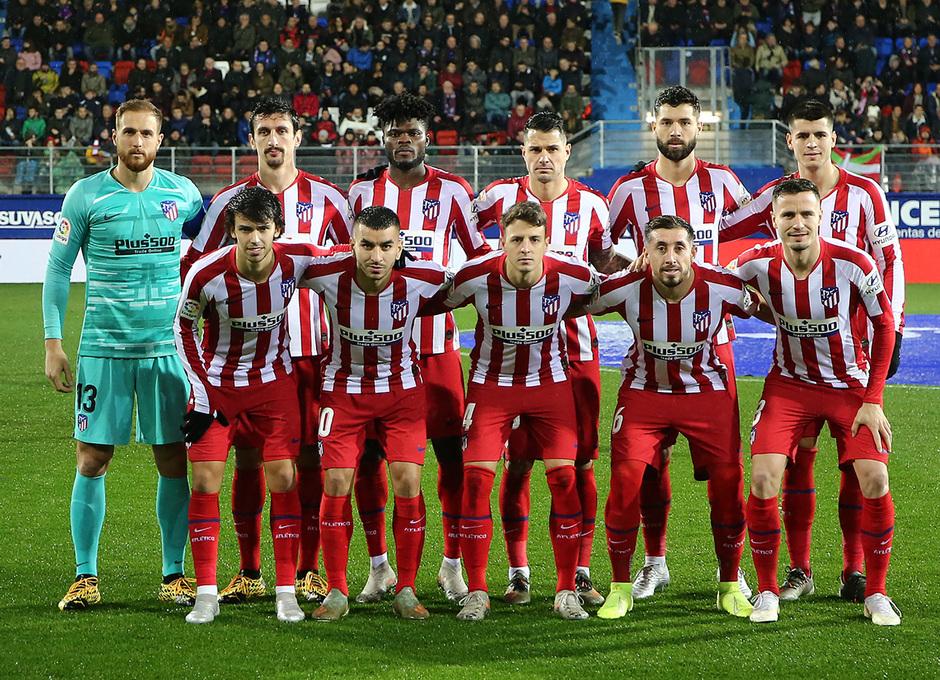 Temporada 19/20 | Eibar - Atlético de Madrid | Once