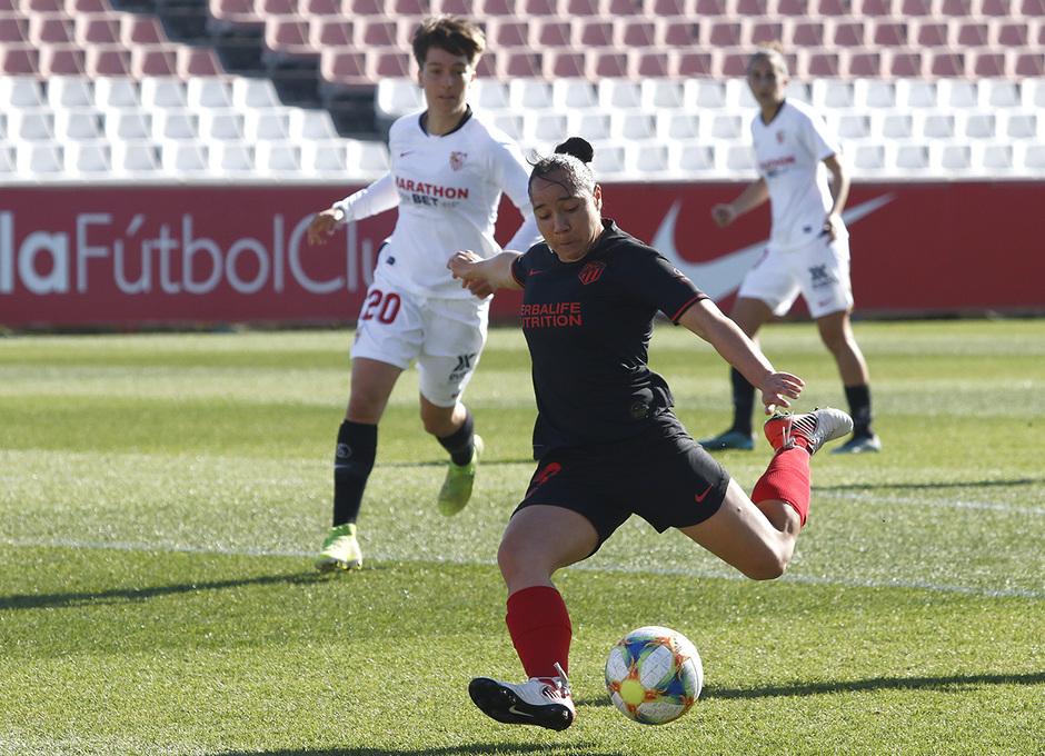 Temporada 19/20 | Sevilla - Atlético de Madrid Femenino | Charlyn