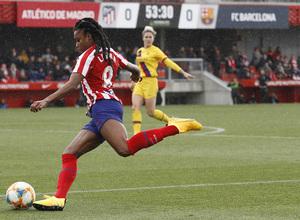 Temporada 19/20   Atlético de Madrid Femenino - FC Barcelona   Ludmila