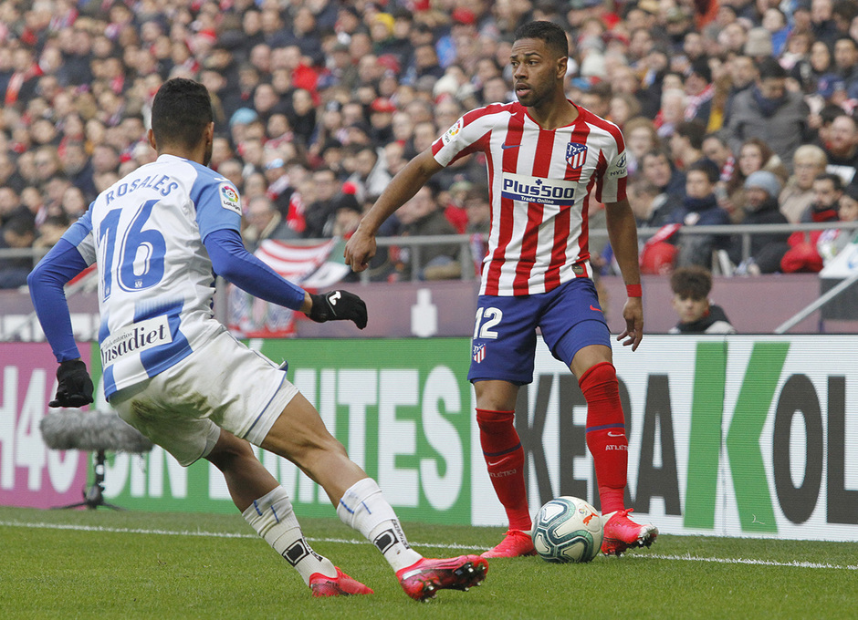 Temporada 19/20 | Atlético de Madrid - Leganés | Renan Lodi