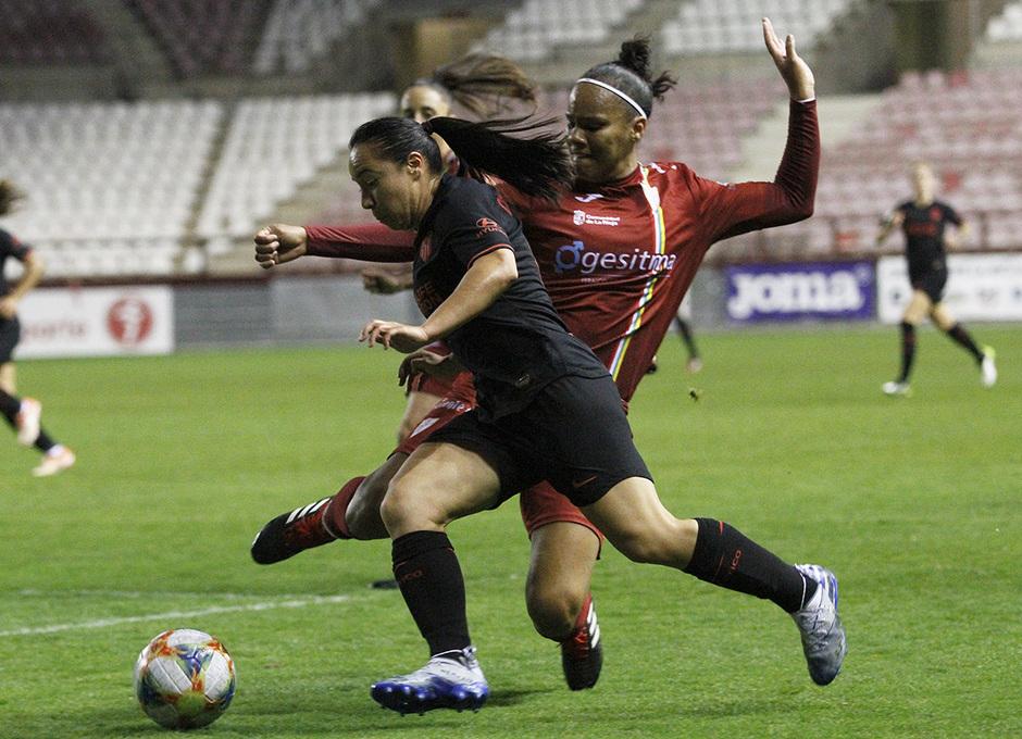 Temp 19/20 | Logroño-Atlético de Madrid Femenino | Charlyn