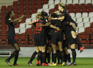 Temp 19/20 | Logroño-Atlético de Madrid Femenino | Celebración gol