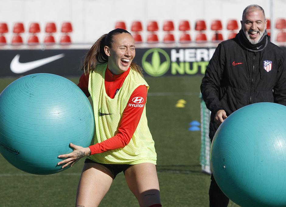 Temporada 19/20 | Entrenamiento del femenino en el Centro Deportivo Wanda Alcalá de Henares | Virginia