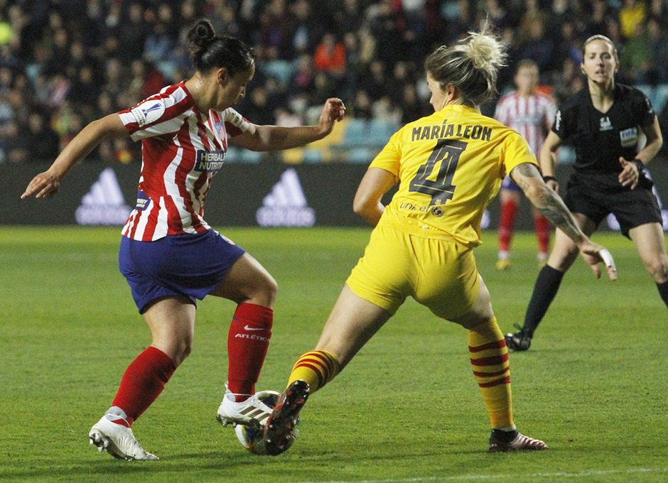 Temporada 19/20   Supercopa   Atlético de Madrid Femenino - Barcelona   Charlyn