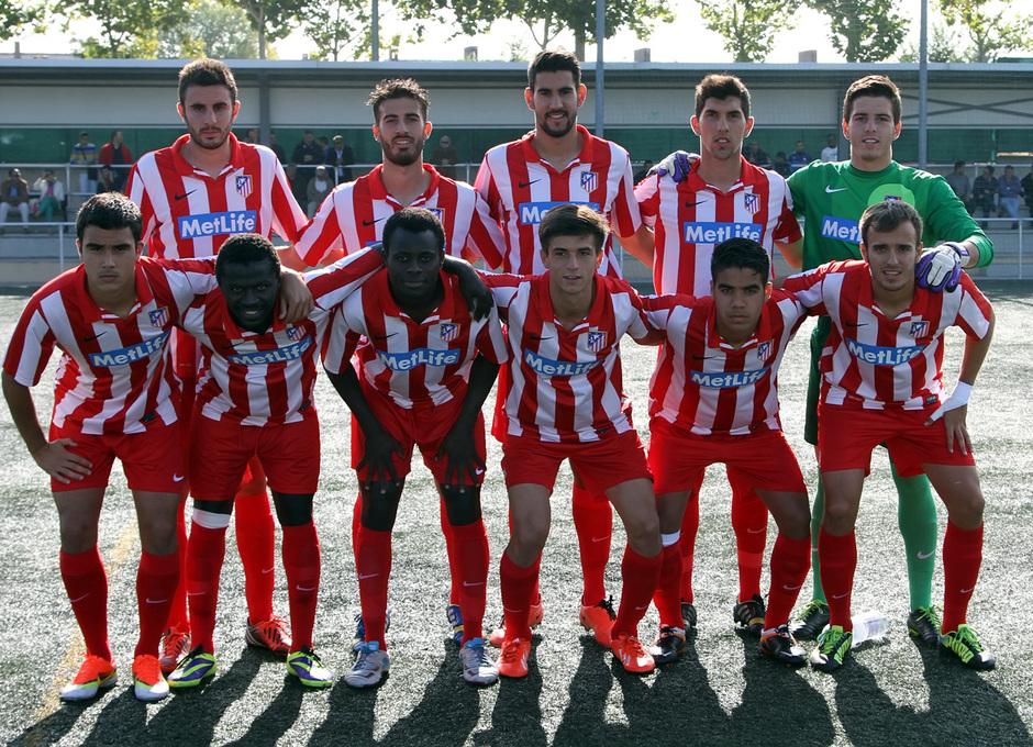 Temporada 13/14. Partido Alcorcón B Atlético C. once titular