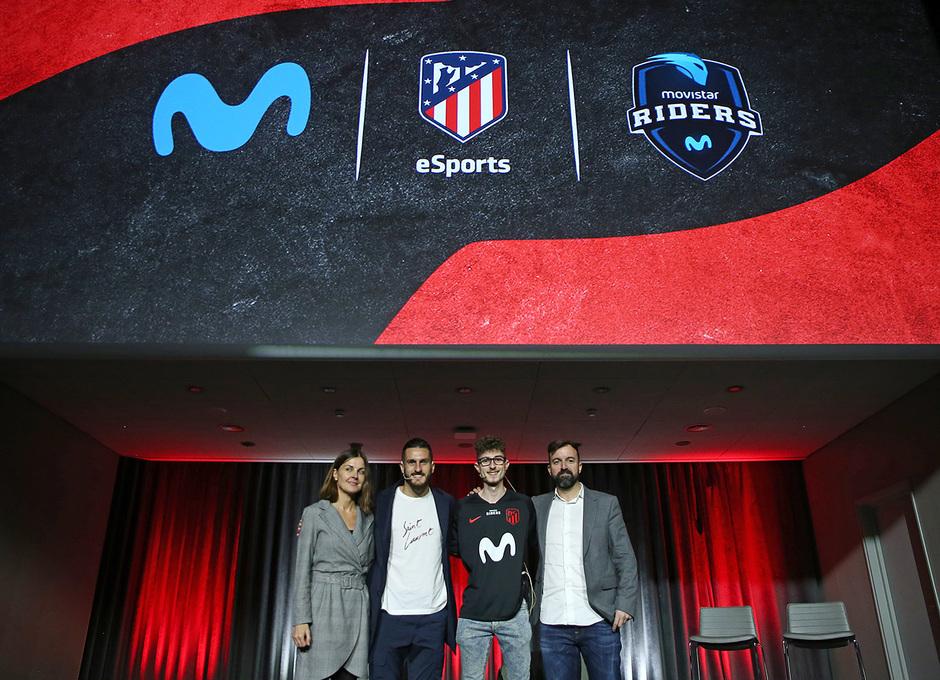 Temp. 19-20 | Presentación del Atlético de Madrid eSports en el Wanda Metropolitano |