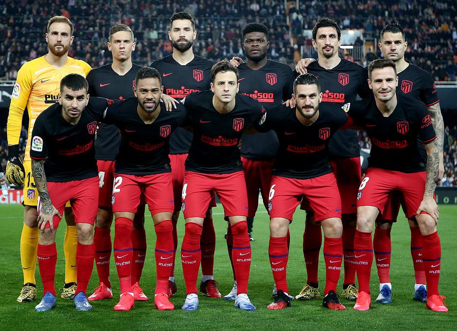 Temp. 19-20 | Valencia - Atlético de Madrid | Once