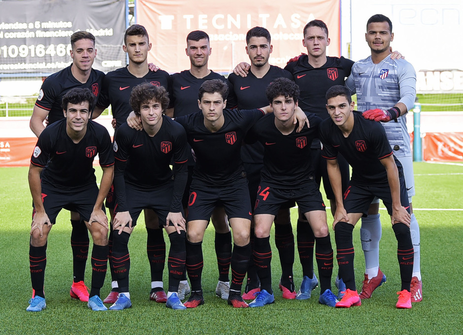 Temp. 19-20 | UD Sanse - Atlético de Madrid B | Once