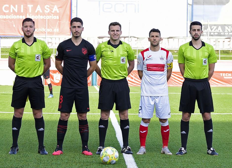 Temp. 19-20 | UD Sanse - Atlético de Madrid B | Capitanes
