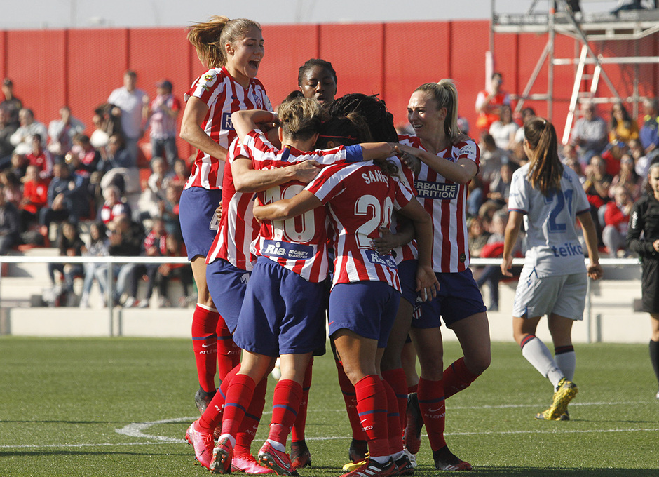 Temp. 19-20   Atlético de Madrid Femenino-Levante   Celebración