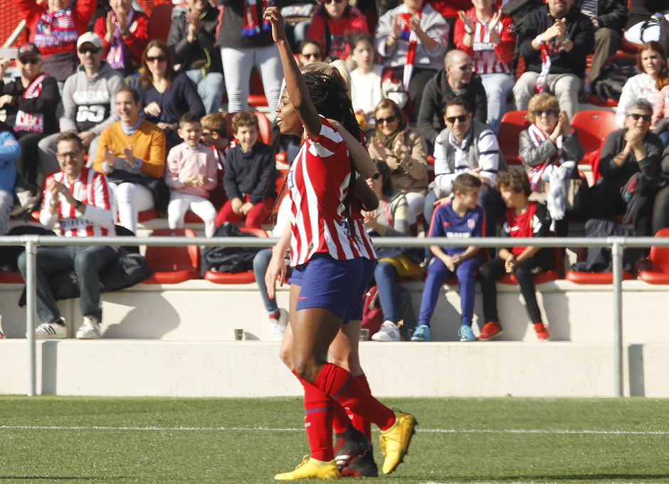 Temp. 19-20   Atlético de Madrid Femenino-Levante   Ludmila