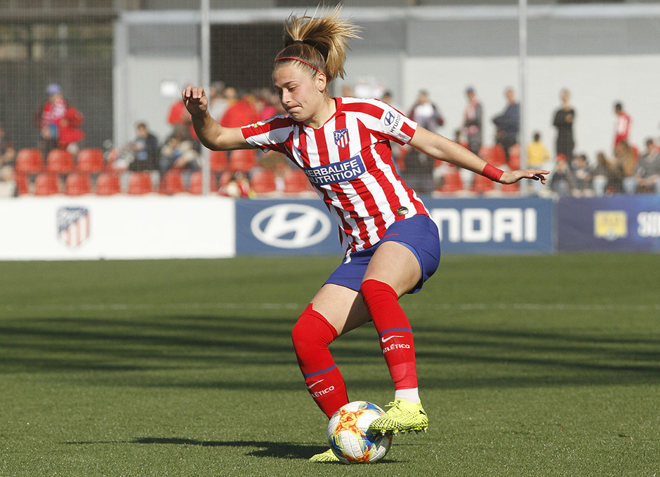 Temp. 19-20   Atlético de Madrid Femenino-Levante   Menayo