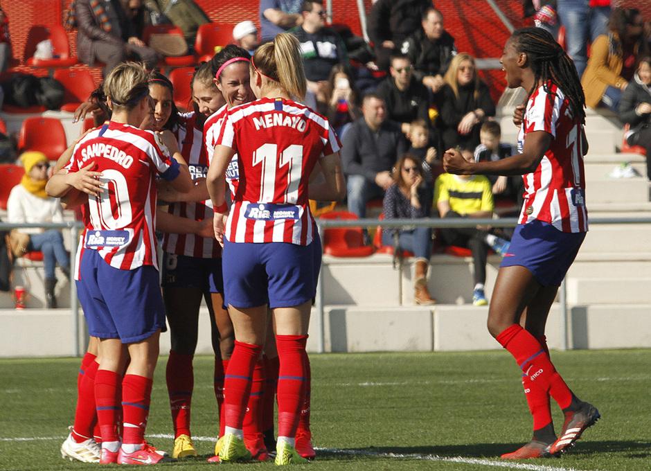Temp. 19-20   Atlético de Madrid Femenino-Levante   Charlyn celebración