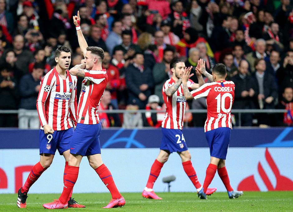 Temporada 19/20 | Atlético de Madrid - Liverpool | Saúl