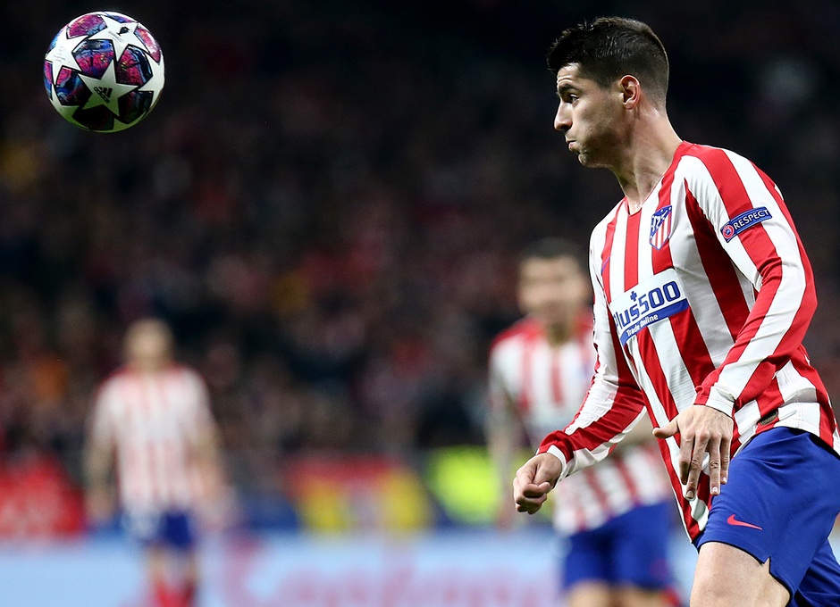 Temporada 19/20   Atlético de Madrid - Liverpool   Morata