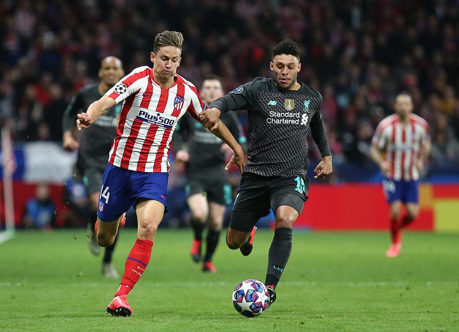 Temporada 19/20   Atlético de Madrid - Liverpool   Llorente