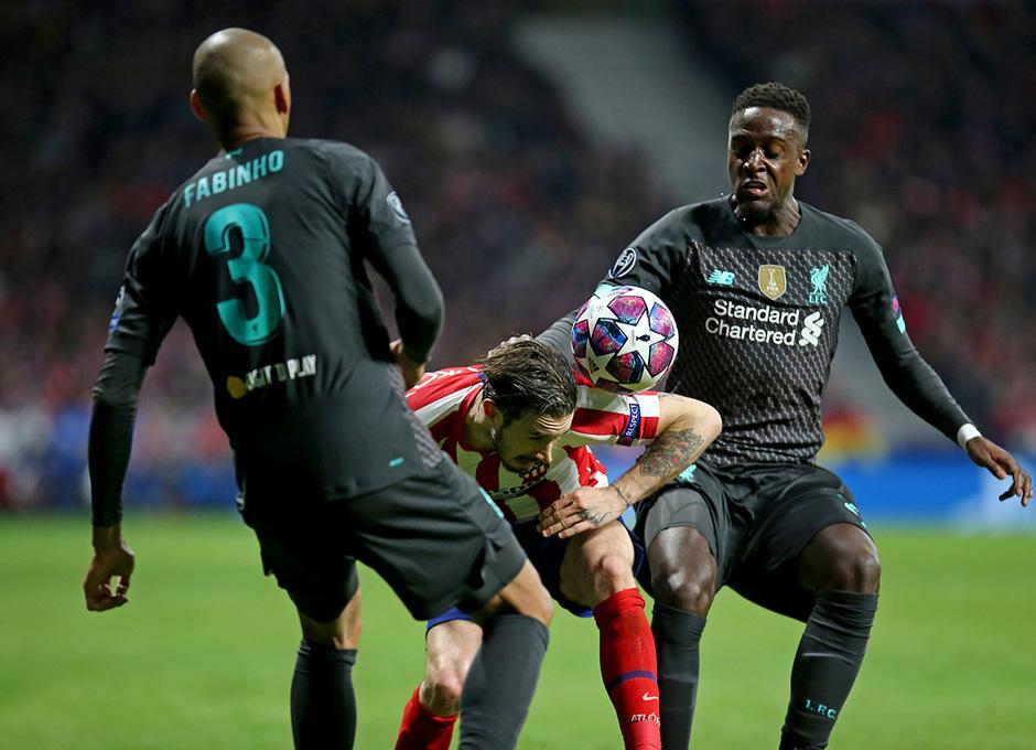 Temporada 19/20   Atlético de Madrid - Liverpool   Vrsaljko