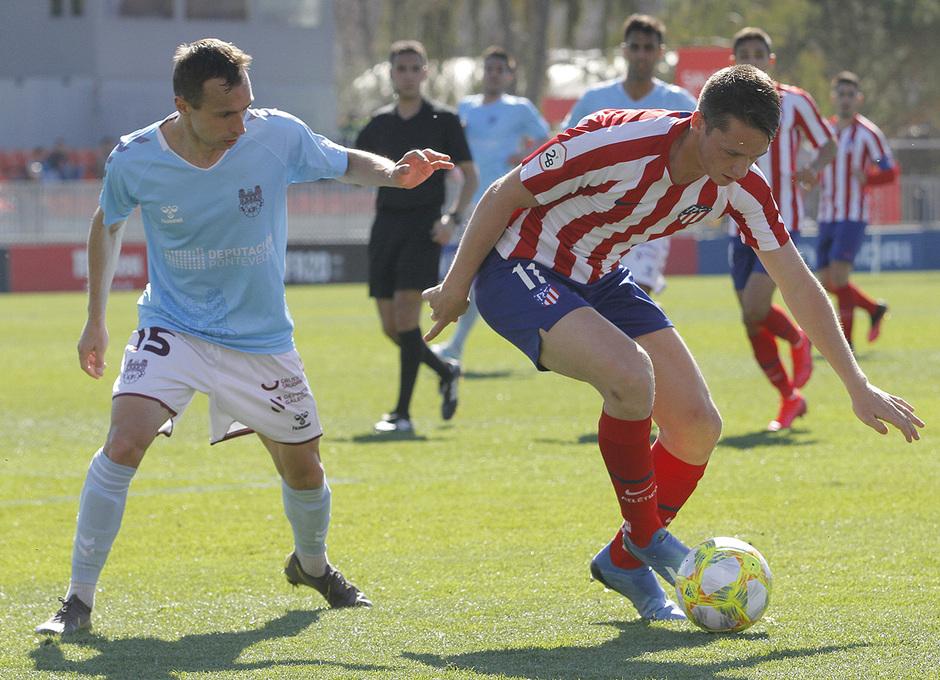 Temporada 19/20 | Atlético B - Pontevedra | Borja Garcés