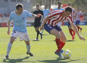 Temporada 19/20   Atlético B - Pontevedra   Borja Garcés