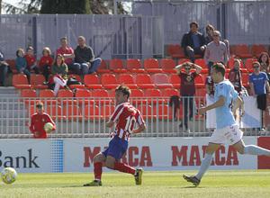 Temporada 19/20   Atlético B - Pontevedra   Óscar Clemente