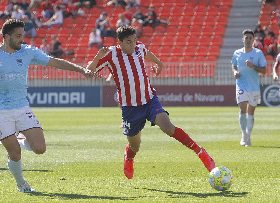 Temporada 19/20 | Atlético B - Pontevedra | Sanabria