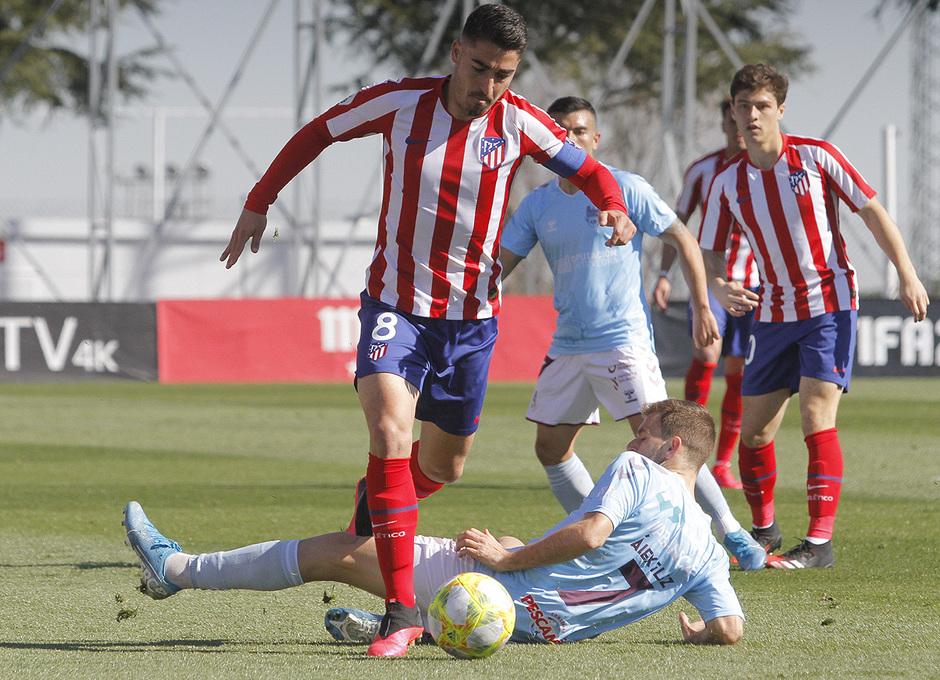 Temporada 19/20 | Atlético B - Pontevedra | Toni Moya