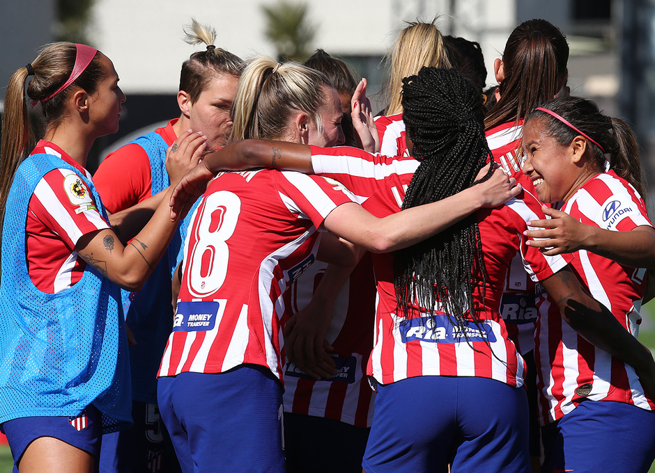 Temporada 19/20 | Madrid CFF- Atleti Femenino | Celebración