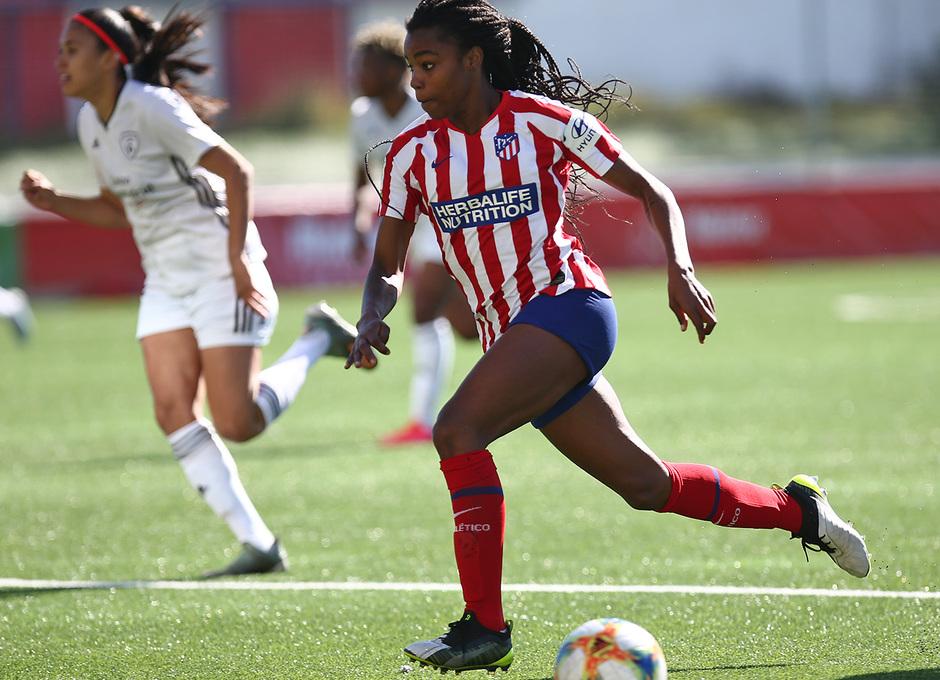 Temporada 19/20 | Madrid CFF- Atleti Femenino | Ludmila
