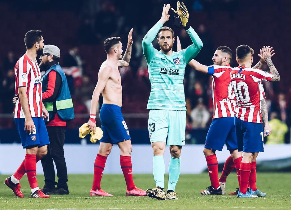 Temporada 2019/20 | Atlético de Madrid - Villarreal | Otra mirada | Aplausos afición