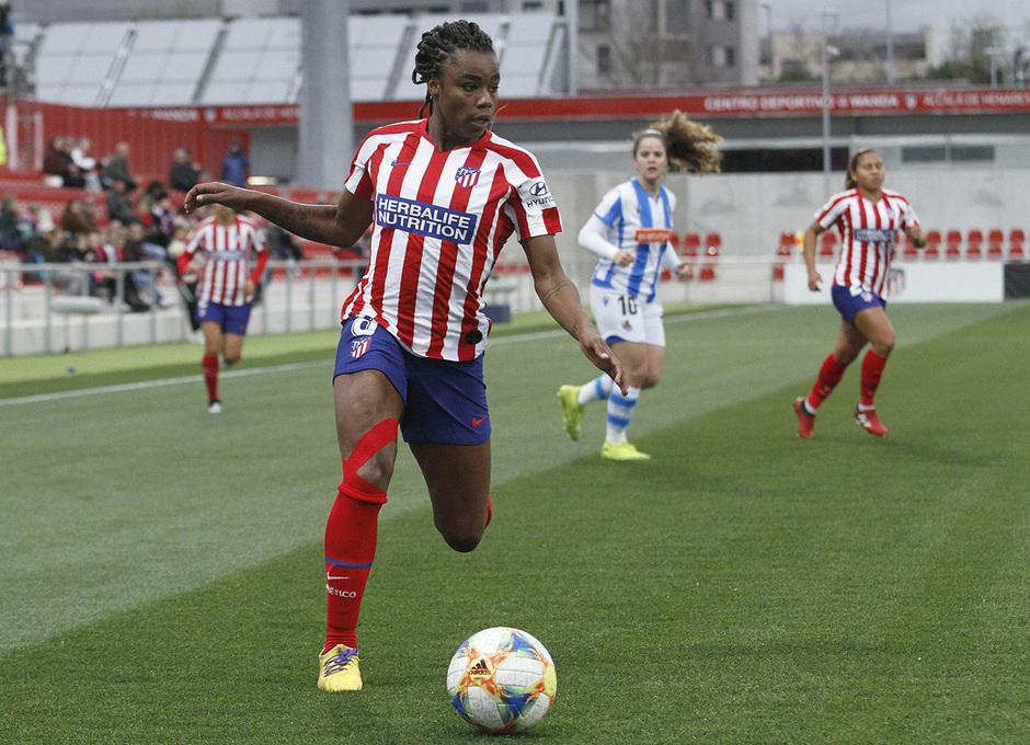 Temporada 19/20   Atlético de Madrid Femenino - Real Sociedad  Ludmila