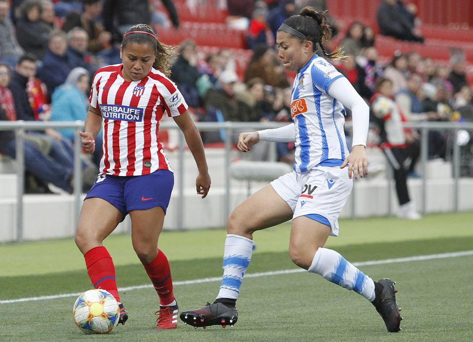 Temporada 19/20   Atlético de Madrid Femenino - Real Sociedad   Leicy