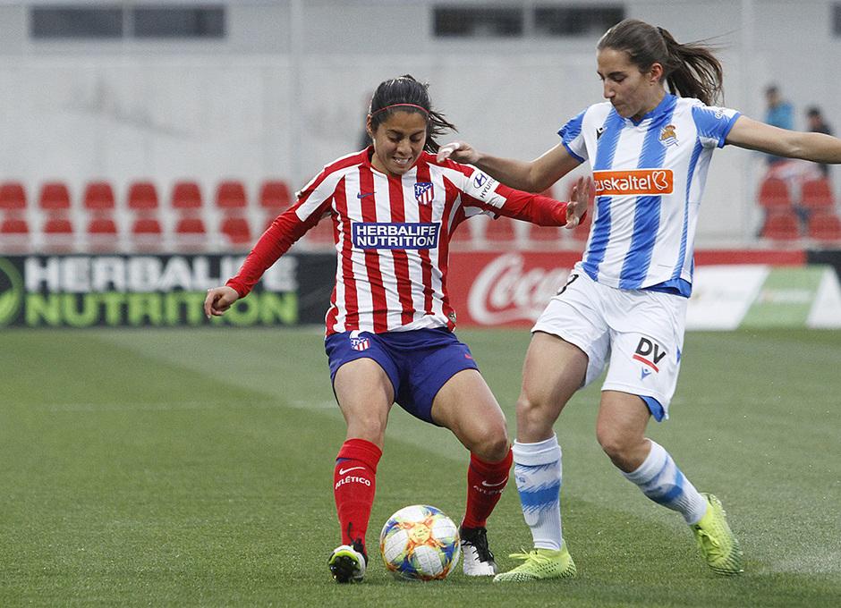 Temporada 19/20   Atlético de Madrid Femenino - Real Sociedad   Kenti