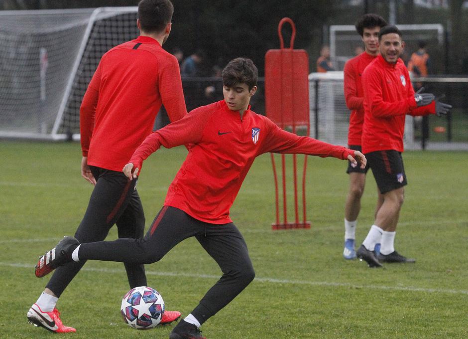 Temporada 19/20 | Entrenamiento Youth League Ajax Amsterdam | Ferreras