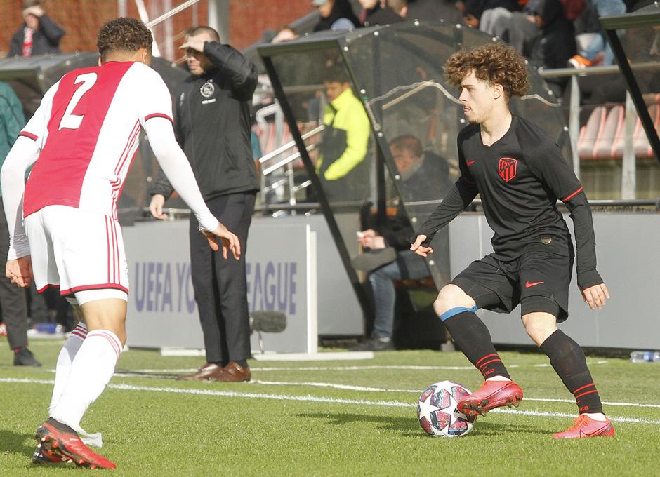 Temp. 19-20 | Ajax - Atlético de Madrid | Youth League | Soriano